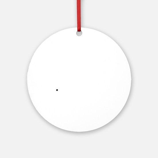 dino3 Round Ornament
