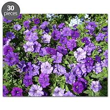 Purple Petunias Puzzle