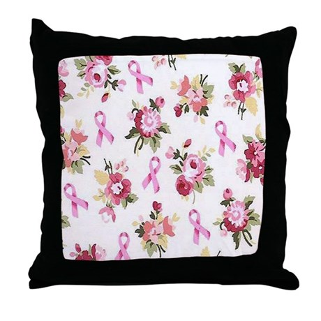 Breast Cancer Awarenessff Throw Pillow