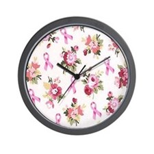 Breast Cancer Awarenessff Wall Clock