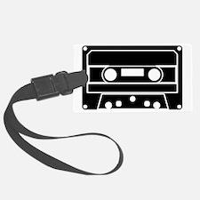 Cassette Black Luggage Tag