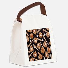 Baseball Equipment Canvas Lunch Bag