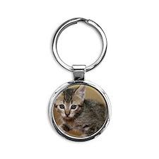 Olivia Round Keychain