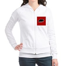bearredpillow Fitted Hoodie