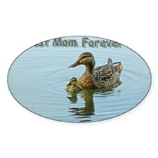 Best mom forever Decal