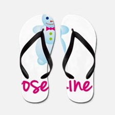 Josephine-the-snow-woman Flip Flops