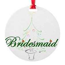 The Christmas Bridesmaid Ornament