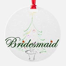 The Christmas Bridesmaid Ornament