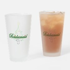 The Christmas Bridesmaid Drinking Glass