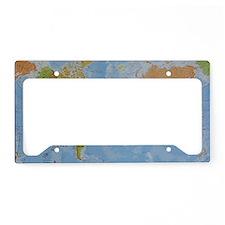 world License Plate Holder