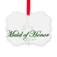 The Christmas Maid of Honor Ornament