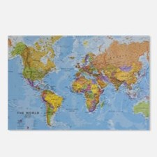 world Postcards (Package of 8)