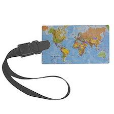 world Luggage Tag