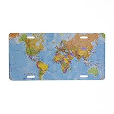 world Aluminum License Plate