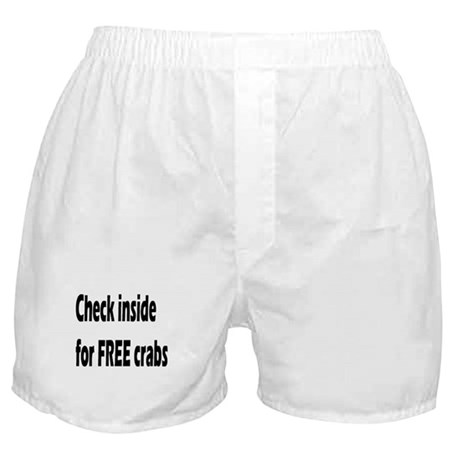 Check inside for FREE crabs