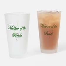 The Christmas Mother of the Bride Drinking Glass