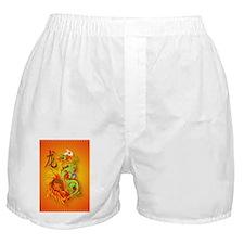 Kindle Flaming Dragon and symbol Boxer Shorts