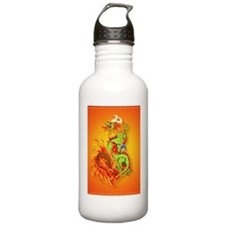 Kindle Flaming Dragon Water Bottle