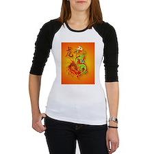 IPad Sleeve  Flaming Dragon and symbol Shirt