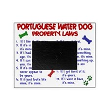 D PORTUGUESE WATER DOG PL2 Picture Frame