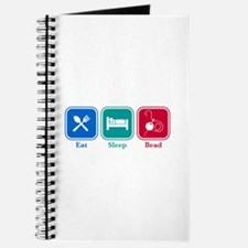 Eat Sleep Bead Journal