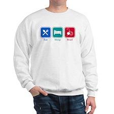 Eat Sleep Bead Sweatshirt