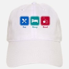 Eat Sleep Bead Baseball Baseball Cap