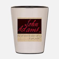JOHNADAMS Shot Glass