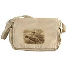 Stand By Your Manatee White Messenger Bag
