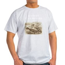 Stand By Your Manatee White T-Shirt