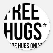 HugsLight Round Car Magnet