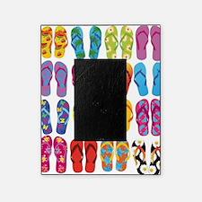 Colorful-Flip-Flops-Vector-Set Picture Frame