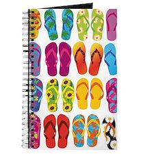 Colorful-Flip-Flops-Vector-Set Journal