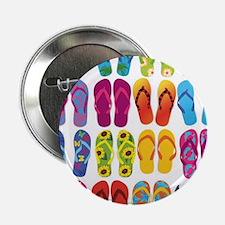 """Colorful-Flip-Flops-Vector-Set 2.25"""" Button"""