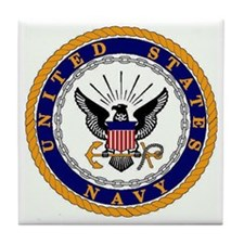 U.S. Navy Seal Tile Coaster