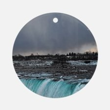 Niagara Round Ornament