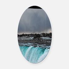 Niagara Oval Car Magnet