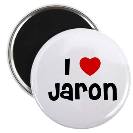 """I * Jaron 2.25"""" Magnet (10 pack)"""