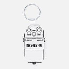 DISTORTION PEDAL Keychains