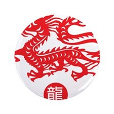 "Red_dragon_1 3.5"" Button"