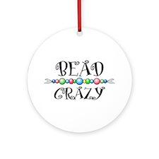 Bead Crazy Ornament (Round)