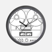 reel to reel Wall Clock