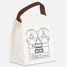 reel to reel Canvas Lunch Bag