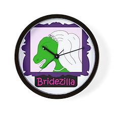 bridezilla3 Wall Clock