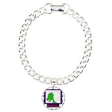 bridezilla3 Charm Bracelet, One Charm