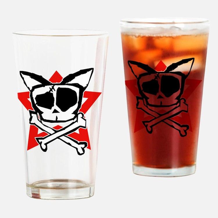 choji Moji shirt2 Drinking Glass