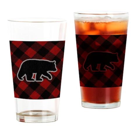 bearwallet Drinking Glass