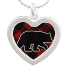 bearwallet Silver Heart Necklace