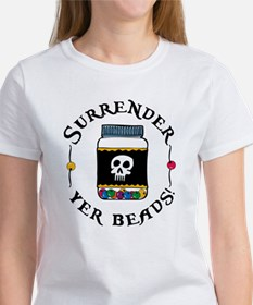 Surrender Yer Beads Tee