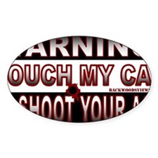 Touch my Car Decal
